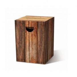 Kartonnen Vouwkruk Wood