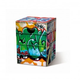 Kartonnen Vouwkruk Graffiti