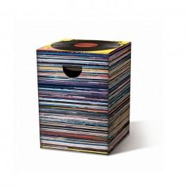 Kartonnen Vouwkruk Stapel LP's