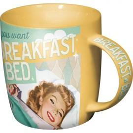 Nostalgic Art Mok Breakfast In Bed