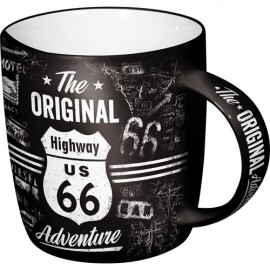 Nostalgic Art Mok Highway 66 Adventure