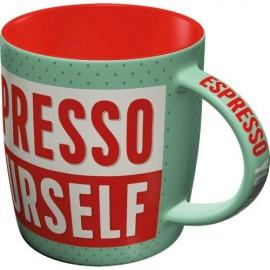 Nostalgic Art Mok Espresso Yourself
