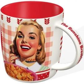 Nostalgic Art Mok Kellog's Girl Corn Flakes