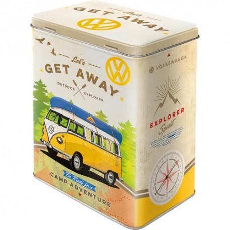 Retro Blik L Volkswagen Bulli Lets Get Away