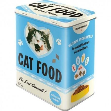 Retro Blik L Cat Food