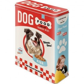 Retro Blik XL Dog Food