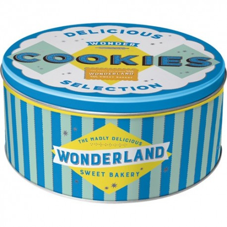 Retro Blik Rond L Wonder Cookies