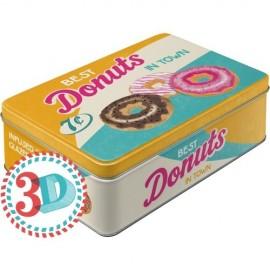 Retro Blik 3D Donuts
