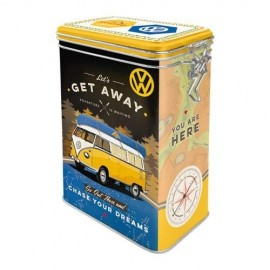 Retro Blik Volkswagen Lets Get Away