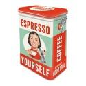 Retro Blik Espresso