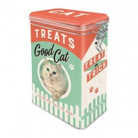 Retro Blik Cat Treats