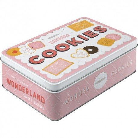 Retro Blik Flach Wonder Cookies