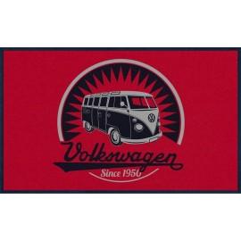 Volkswagenbus T1 Deurmat Retro Logo