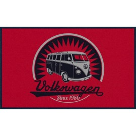 Volkswagen T1 Deurmat Retro Logo