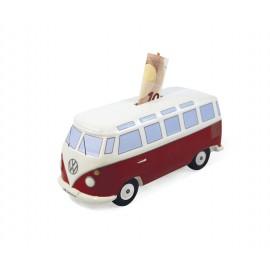 Volkswagenbus T1 Spaarpot Rood