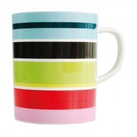 Gekleurde Mok Stripy