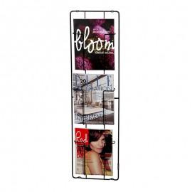 Frame 3 Tijdschriftenrek Mat Zwart