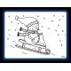 Inkleur Placemats Sneeuwpop
