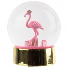 Flamingo Sneeuwbal Presse Papier XL