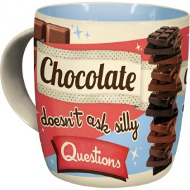Nostalgic Art Mok Chocolate Doesnt Ask