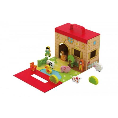 Vouwbare boerderij - Vouwbare kinderstoel ...