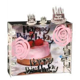 Mini World Magneet Happy Birthday
