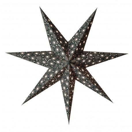 Papieren Kerstster Cristal Zwart