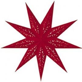 Papieren Kerstster Baby Rosso