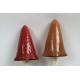 Paddenstoel Keramiek Punthoed Oranje & Rood