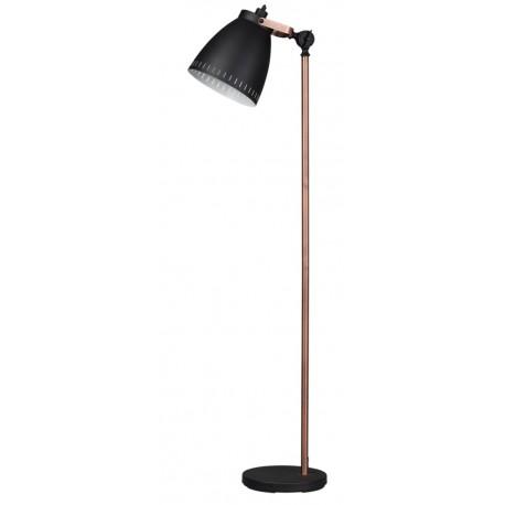 Acate Vloerlamp BIG Zwart Koper