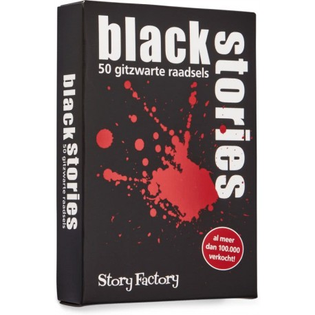 Black Stories 50 Gitzwarte Raadsels