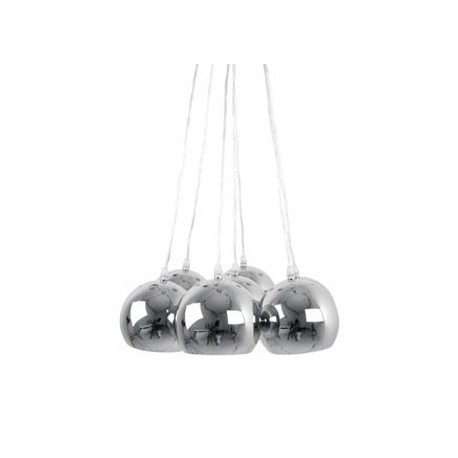Hanglamp Big Bundle Chroom leitmotiv