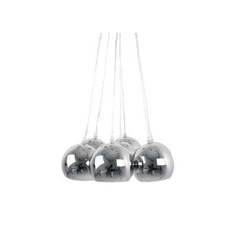 Hanglamp Big Bundle Chroom leitmotiv