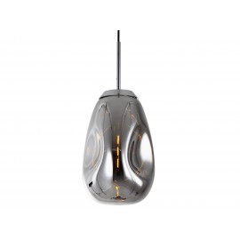 Leitmotiv Hanglamp Blown Glas Chroom M