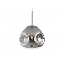Leitmotiv Hanglamp Blown Glas Chroom S