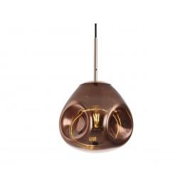 Leitmotiv Hanglamp Blown Glas Rosegoud S