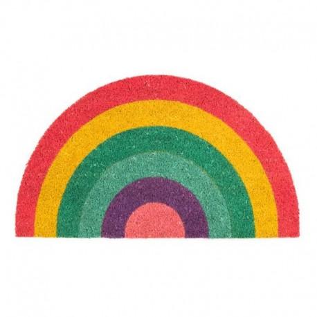 Deurmat Regenboog