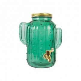Watertap Cactus Groen Glas