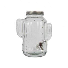 Watertap Cactus Transparant Glas