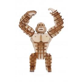 Gorilla Houten 3D Puzzel