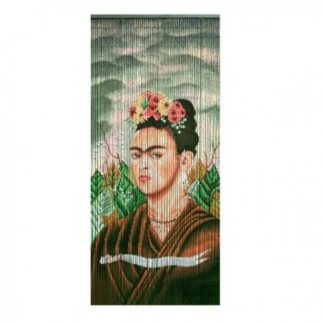 Deurgordijn Bamboe Frida Kahlo