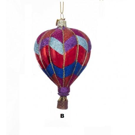 Glazen Kerstbal Luchtballon