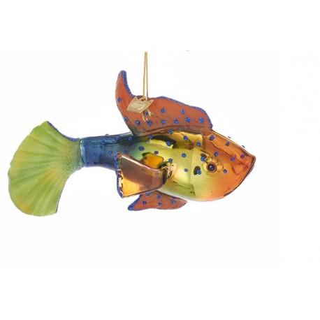 Set van 2 Kerstboomhangers Marine Vissen