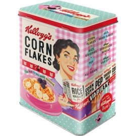 Retro Blik Cornflakes Happy Hostess