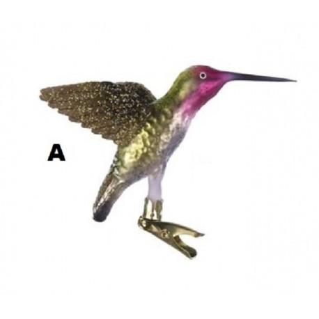 Glazen Kolibrie op Clip