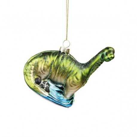 Kerstbal Dino Brachiosaurus