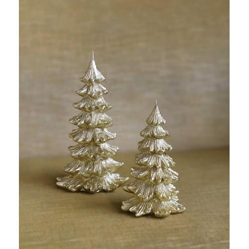 Kaars Kerstboom Goud In 2 Maten Allesinwonderland Nl
