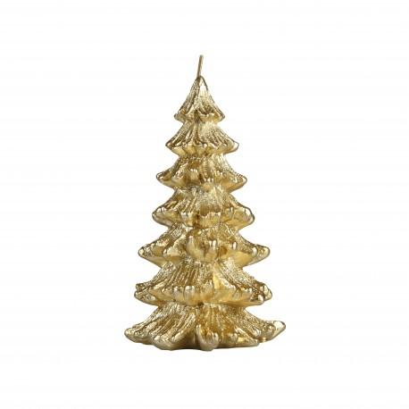 Kaars Kerstboom Goud in 2 Maten