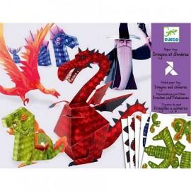 Djeco 3D Knutselpakket Draken