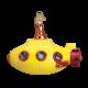 Kerstbal Yellow Submarine